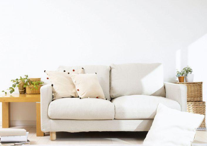 Apartment Living Room White