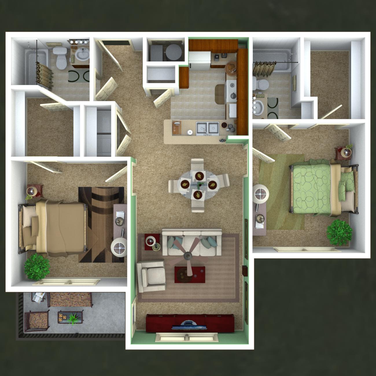 Serenity Floor Plan