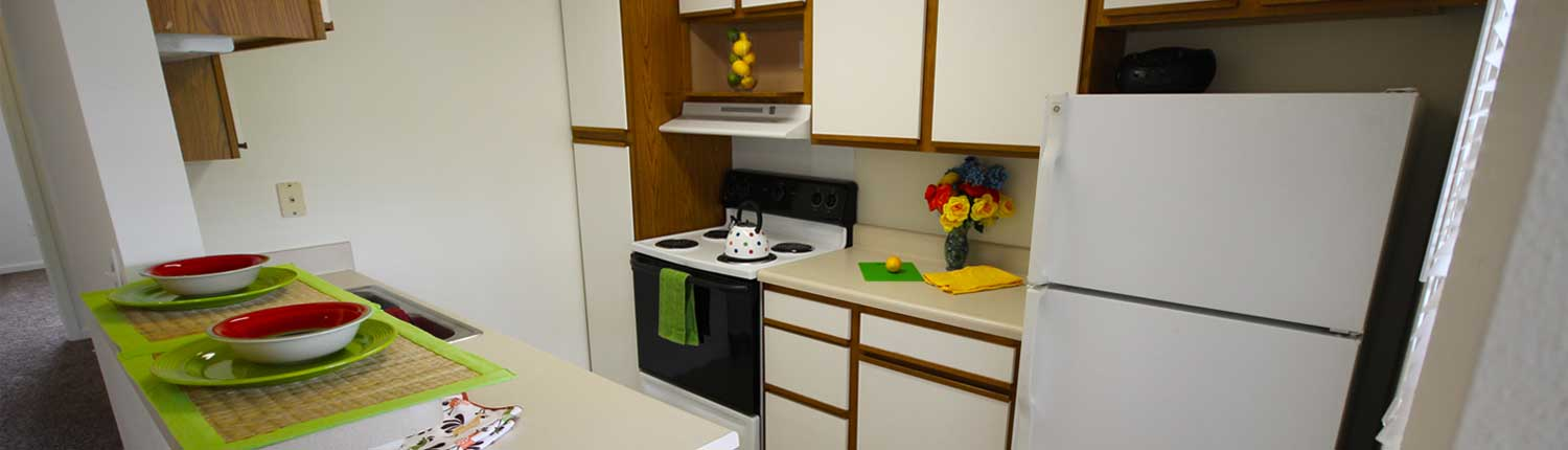 Canterbury House Apartment Kitchen