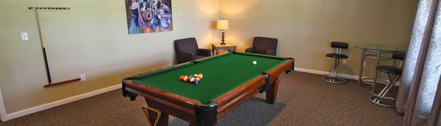 Canterbury House Apartments Game Room