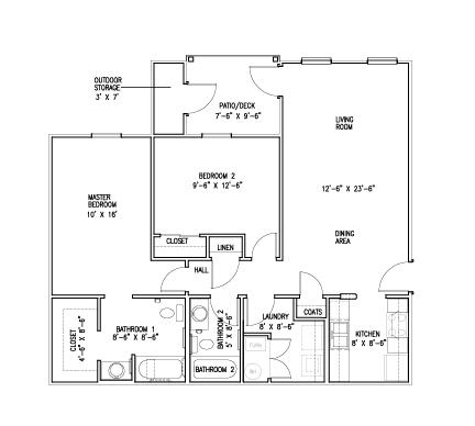 Apartments In Newburgh In | Floor Plans