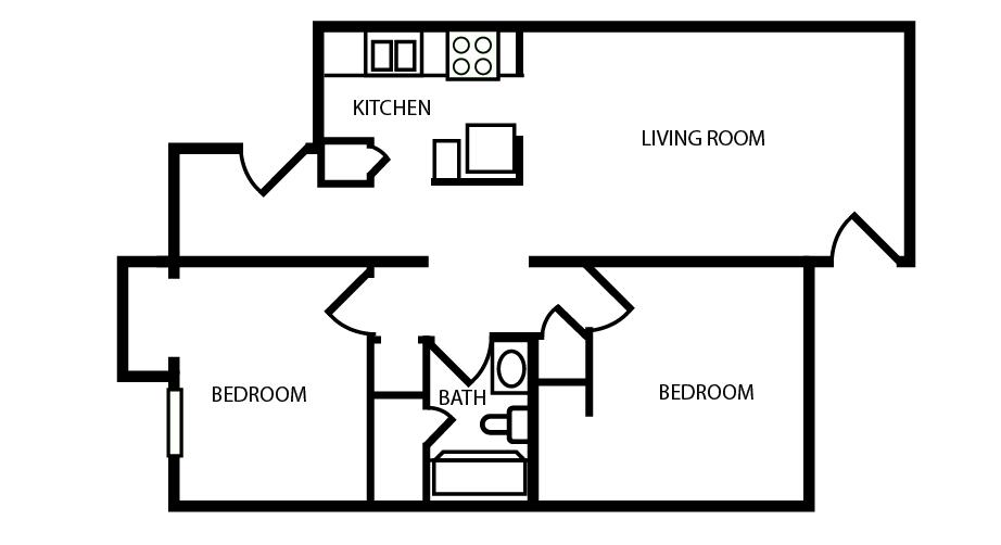 Apartments In Ruston La Floor Plans
