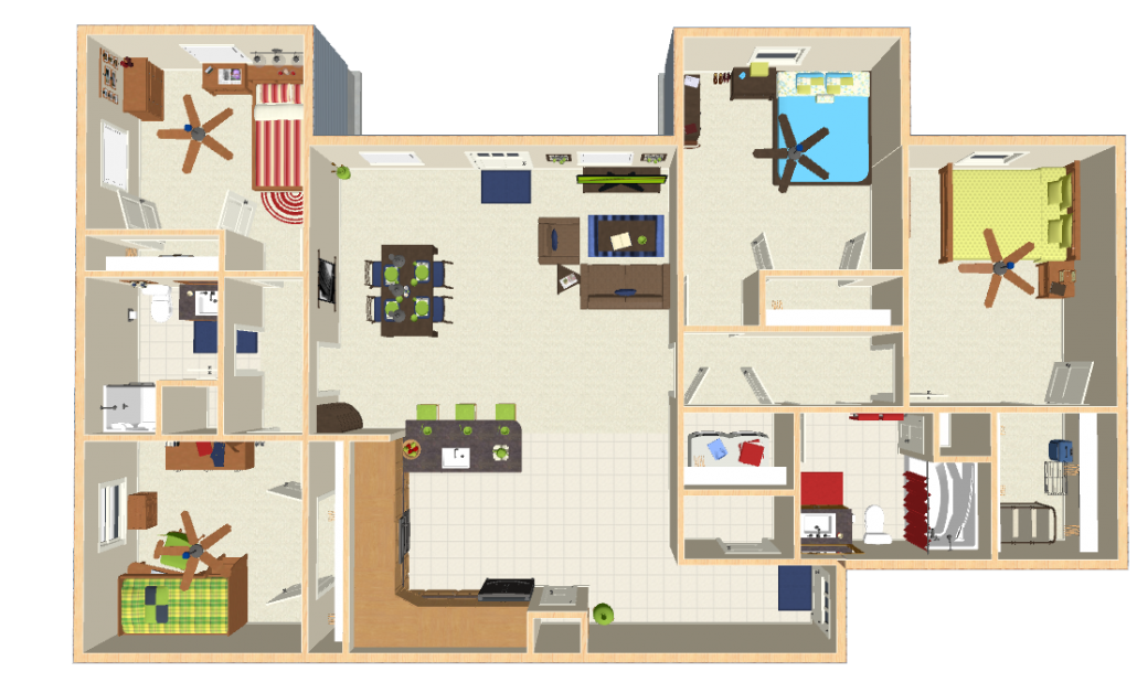 Oshkosh Apartments Floor Plans
