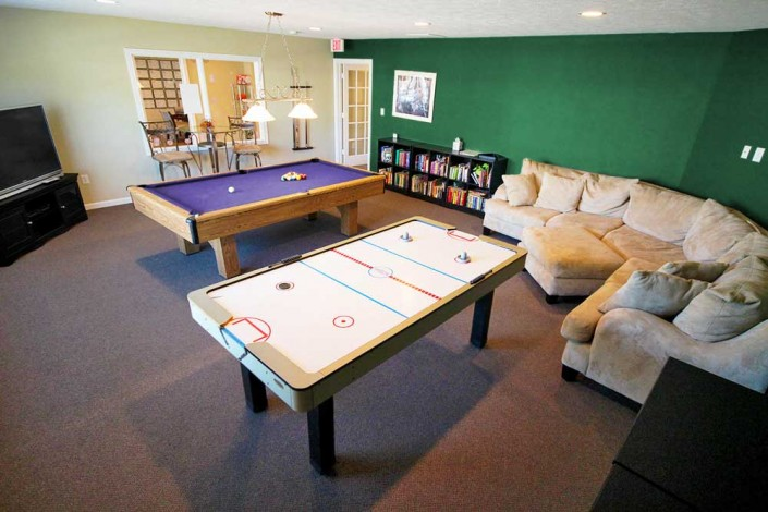 Clubhouse Game Room