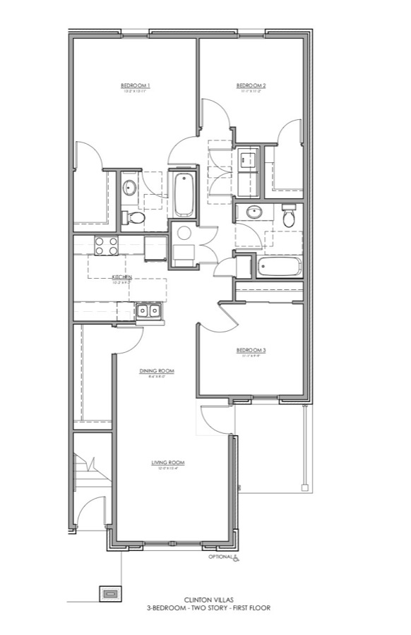 Clinton Apartments | Floor Plans