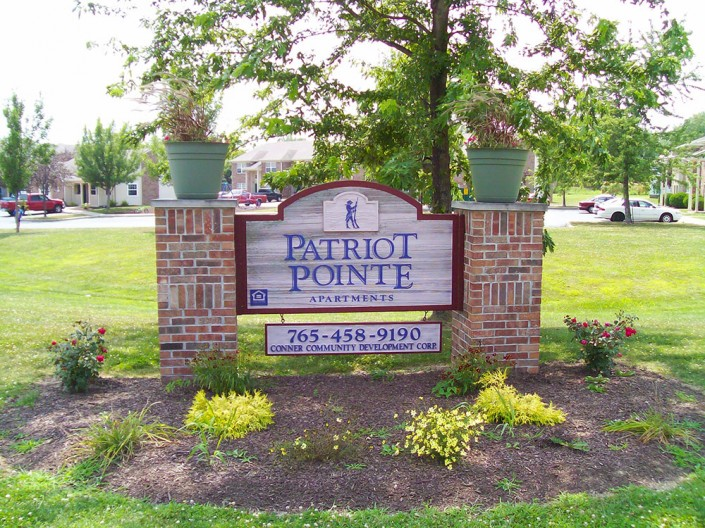 Patriot Pointe Welcome Sign