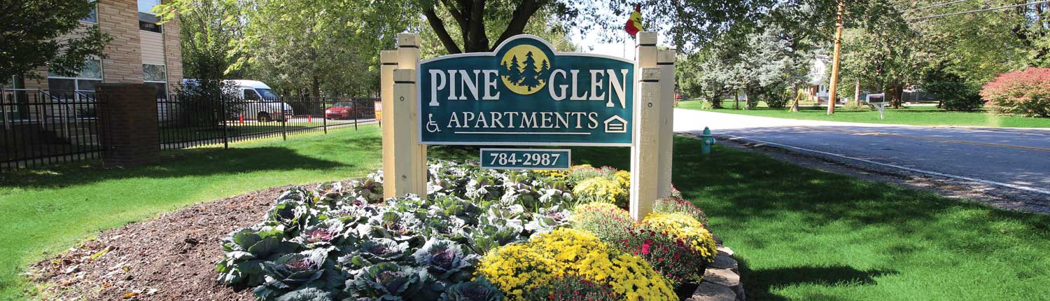 Welcome To Pine Glen Apartments