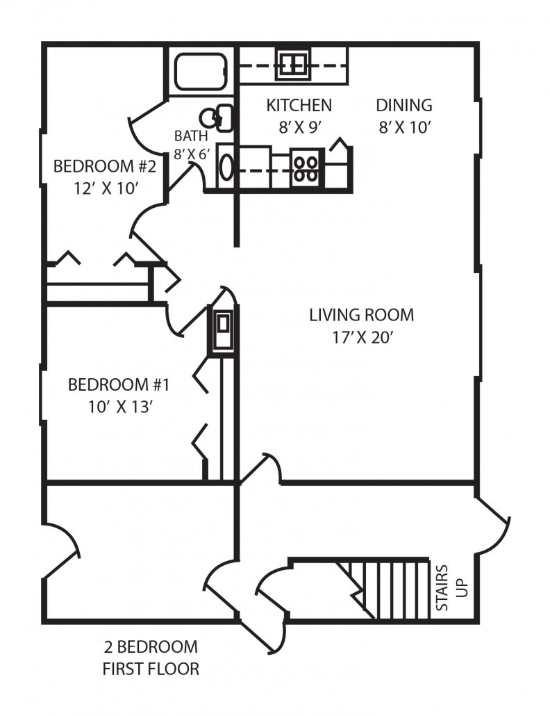 Bedroom Floor Planner apartments in indianapolis | floor plans