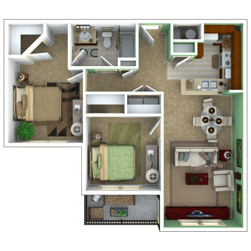 Senior apartments indianapolis floor plans for 720 sq ft apartment floor plan