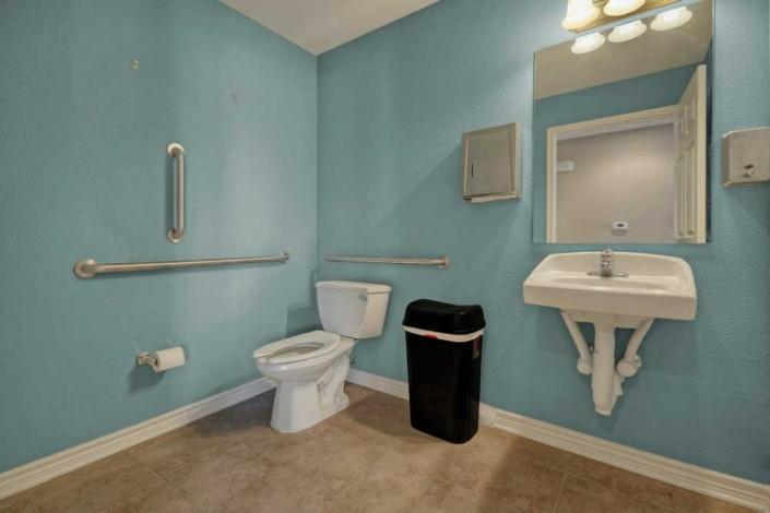 Clubhouse Bathroom