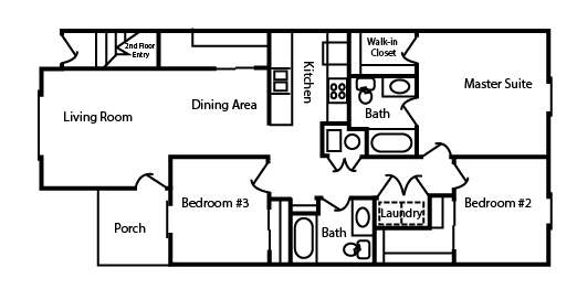 Ottawa Apartments | Floor Plans