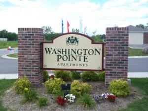 Washington Pointe Street Sign