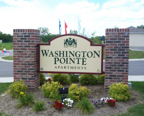 Washington Pointe Street Sign