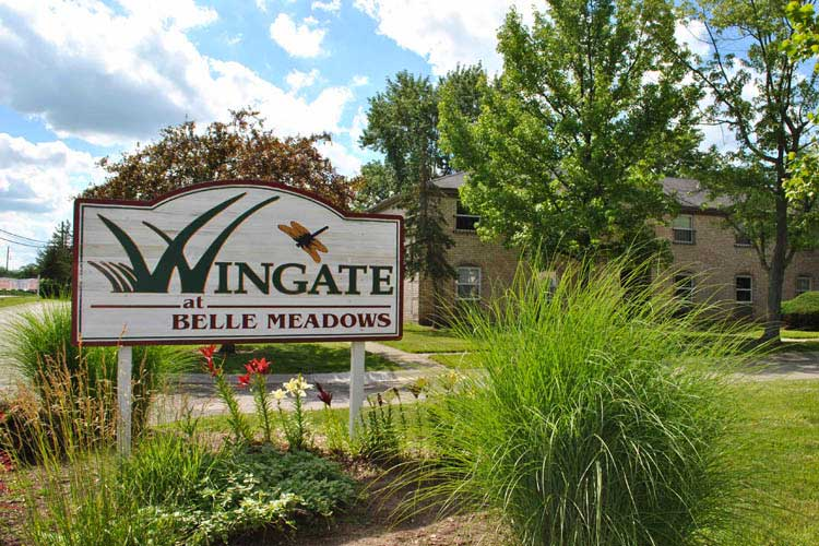 Wingate Welcome Sign