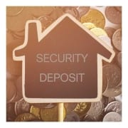 security deposit graphic