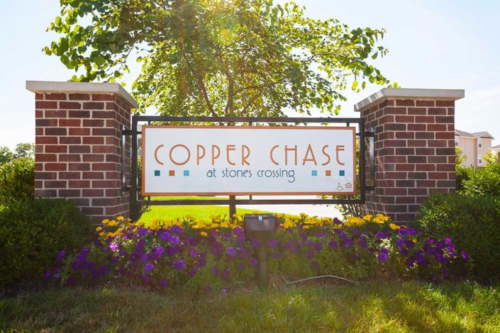 Copper Chase Sign