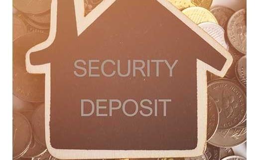 security deposit graphic